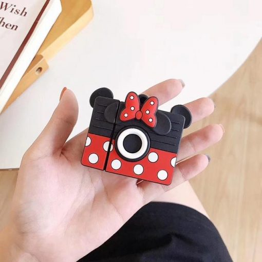 Minnie Mouse 'Camera' Premium AirPods Case Shock Proof Cover