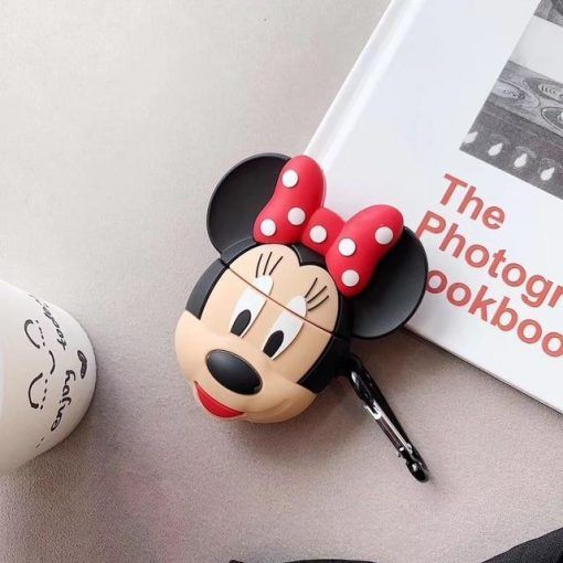 Minnie Mouse Premium AirPods Case Shock Proof Cover