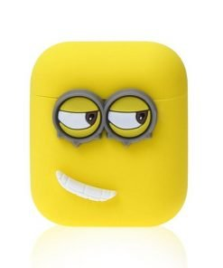Minons Left Smile AirPods Case Shock Proof Cover