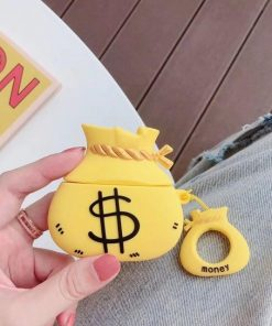 Money Bag 'Gold' Premium AirPods Case Shock Proof Cover