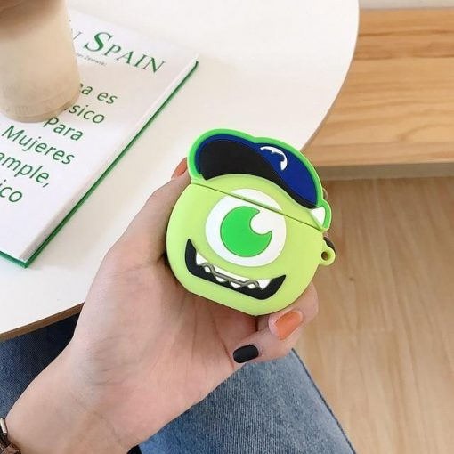 Monsters Inc. Baby Mike Wizowski Premium AirPods Case Shock Proof Cover