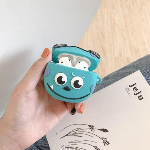 """Monsters Inc. Baby """"Sully"""" Premium AirPods Case Shock Proof Cover"""