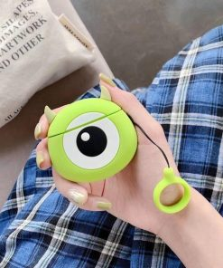 Monsters Inc. 'Round Mike Wizowski' Premium AirPods Case Shock Proof Cover