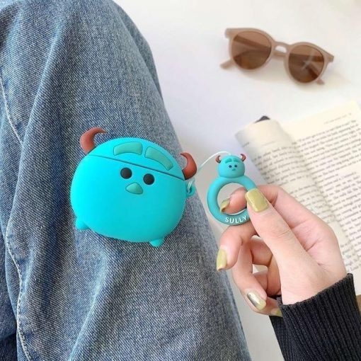 Monsters Inc 'Sully' Premium AirPods Case Shock Proof Cover