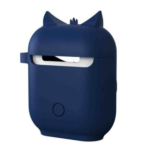 Navy Owl AirPods Case Shock Proof Cover