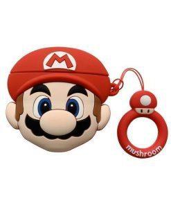 Nintendo Super Mario Bros. 'Mario' Premium AirPods Case Shock Proof Cover