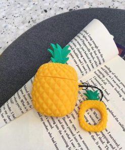 Orange Pineapple Premium AirPods Case Shock Proof Cover