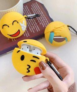 Peace Emoji Premium AirPods Case Shock Proof Cover