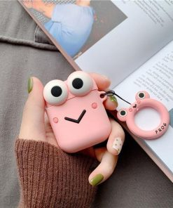 Pink Muppet AirPods Case Shock Proof Cover