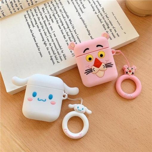 Pink Panther AirPods Case Shock Proof Cover