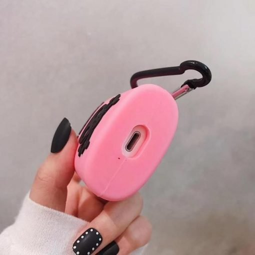 Pink Poison Bottle Premium AirPods Case Shock Proof Cover