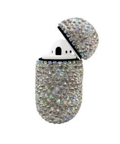 Pink Rhinestone AirPods Case Shock Proof Cover