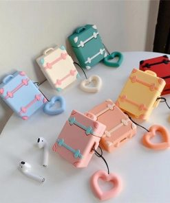 Pink Trunk AirPods Case Shock Proof Cover