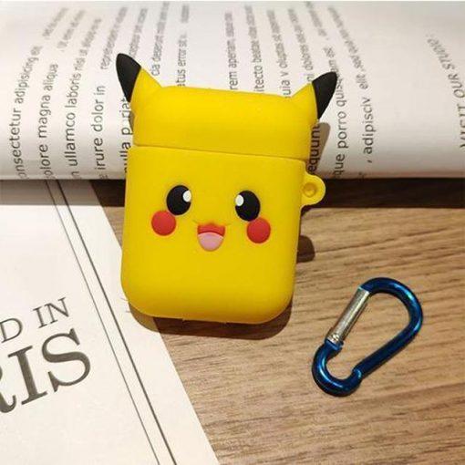 Pokemon Happy Pikachu Premium AirPods Case Shock Proof Cover