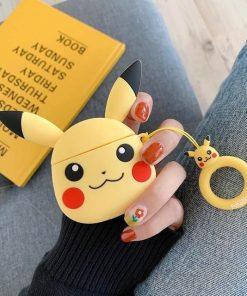 Pokemon Pikachu Premium AirPods Case Shock Proof Cover