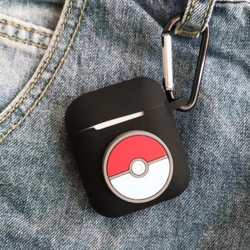 Pokemon Pokeball AirPods Case Shock Proof Cover
