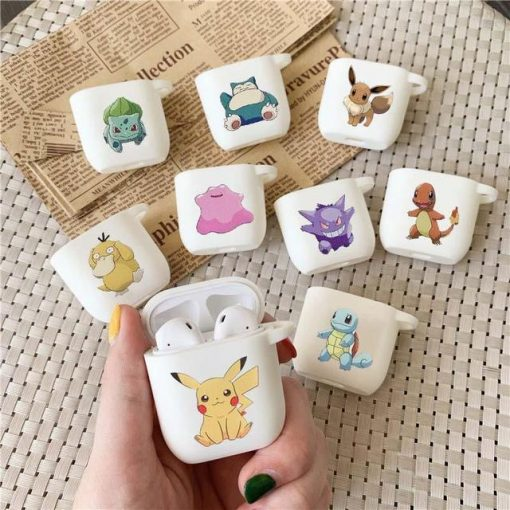 Pokemon Psyduck AirPods Case Shock Proof Cover