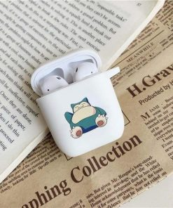 Pokemon Snorlax AirPods Case Shock Proof Cover
