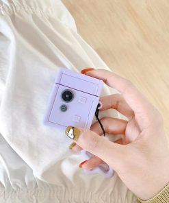 Purple Safe AirPods Case Shock Proof Cover