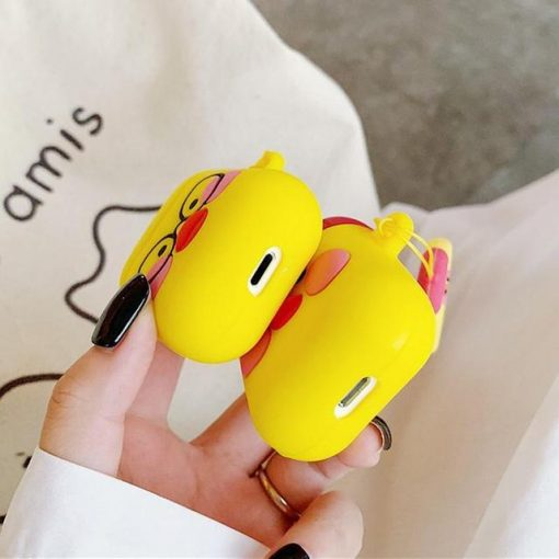 Red Hat Duck AirPods Case Shock Proof Cover