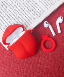 Red Lips Premium AirPods Case Shock Proof Cover