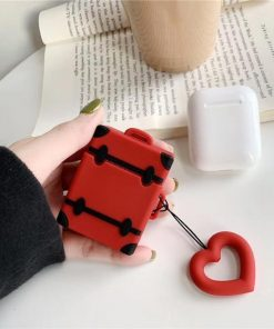 Red Trunk AirPods Case Shock Proof Cover