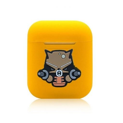 Rocket Raccoon Yellow AirPods Case Shock Proof Cover
