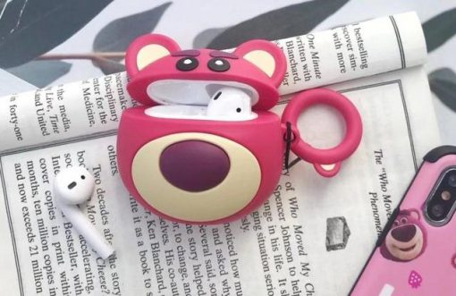 Round Lotso Premium AirPods Case Shock Proof Cover