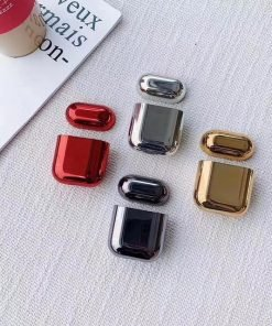 Ruby Plated AirPods Case Shock Proof Cover