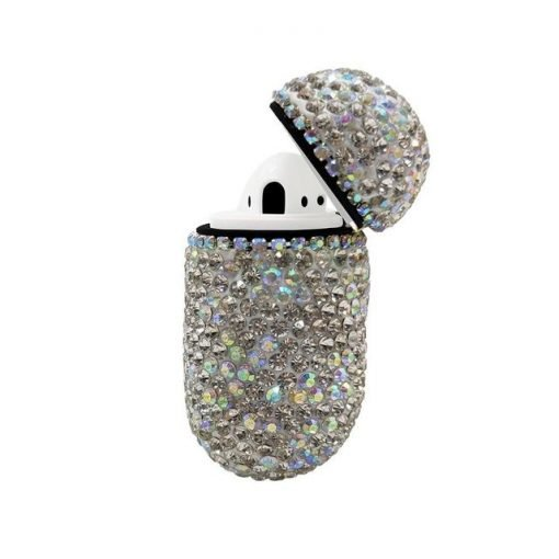 Ruby Rhinestone AirPods Case Shock Proof Cover