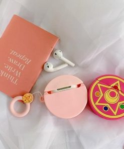 Sailor Moon Rose Crystal Star Premium AirPods Case Shock Proof Cover
