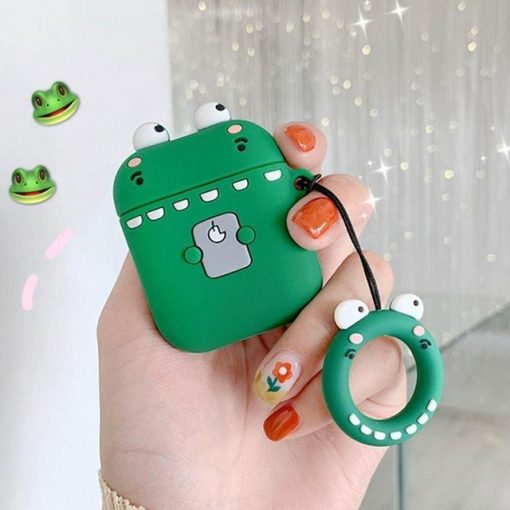 Shy Dino AirPods Case Shock Proof Cover