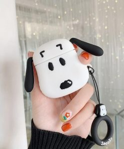 Snoopy Face Premium AirPods Case Shock Proof Cover