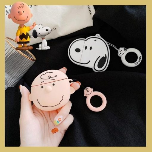 Snoopy Premium AirPods Case Shock Proof Cover