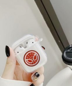 Spiderman Clear Acrylic AirPods Case Shock Proof Cover