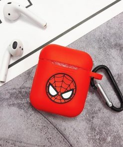Spiderman Spidey Logo AirPods Case Shock Proof Cover