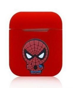 Spiderman Webshooter Red AirPods Case Shock Proof Cover