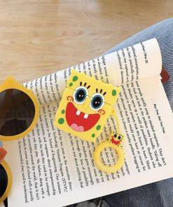 SpongeBob Squarepants 'Excited' Premium AirPods Case Shock Proof Cover