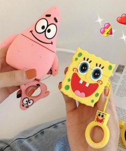 SpongeBob Squarepants 'Patrick Starfish' Premium AirPods Case Shock Proof Cover