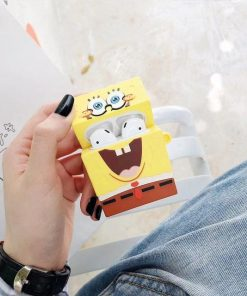 SpongeBob SquarePants Premium AirPods Case Shock Proof Cover