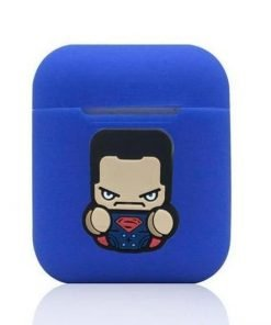 Superman Action Blue AirPods Case Shock Proof Cover