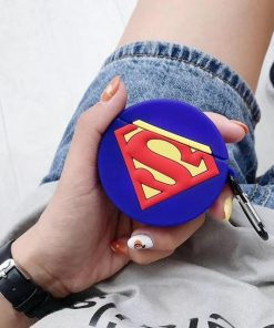 Superman 'Man of Steel' Premium AirPods Case Shock Proof Cover