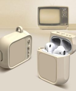Tan Tube TV AirPods Case Shock Proof Cover