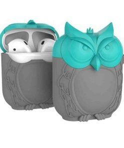 Teal and Grey AirPods Case Shock Proof Cover