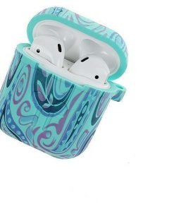 Teal Peace AirPods Case Shock Proof Cover