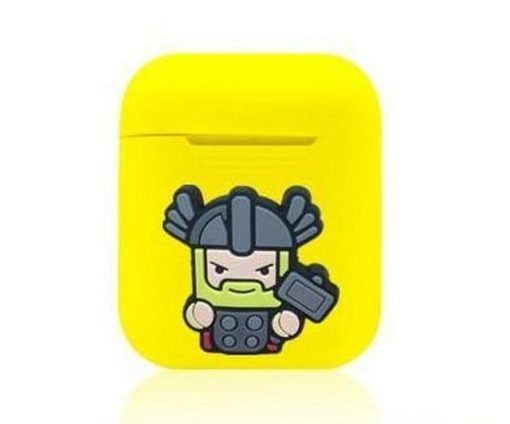 Thor Action Yellow AirPods Case Shock Proof Cover