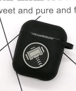 Thor Black AirPod Case Shock Proof Cover