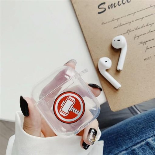 Thor Clear Acrylic AirPods Case Shock Proof Cover