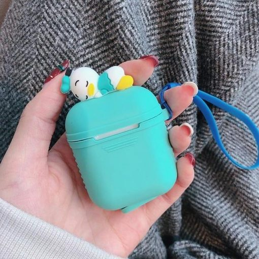 Tiffany Blue Baby Donald AirPods Case Shock Proof Cover