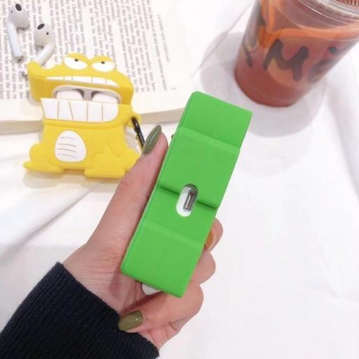 Tohato Pink Premium AirPods Case Shock Proof Cover